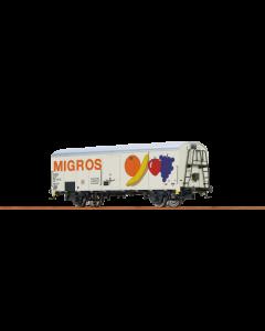 Kühlwagen UIC 1, Migros, Epoche 4