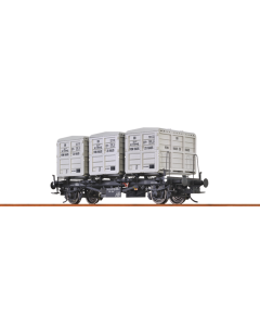 Behältertragwagen Lbs 577  Epoche 4