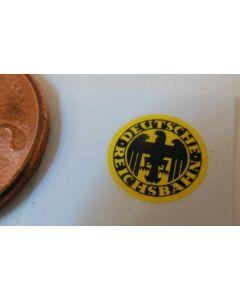 Reichsbahn-Emblem. gelb-schwarz (6)
