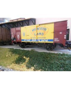 Güterwagen geschlossen G10 DR, Münsterland