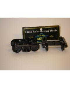 Roller Bearing Trucks. 33 Räder