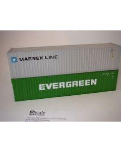 Container 40 Fuß, Evergreen