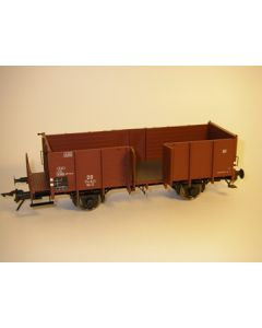 Güterwagen offen Om12 DB mit Bremserbühne