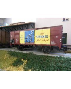 Güterwagen geschlossen G10 DB, Stricker