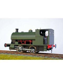 Satteltanklokomotive Peckett Typ E, GWR-grün