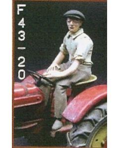 Traktorfahrer