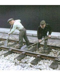 2 Gleisarbeiter