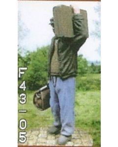Reisender mit Tasche