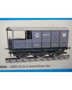 GWR 24 Ton 6-achs. Bremswagen