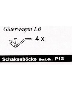 Schakenböcke Güterwagen Ep. 1 (4 Stück )