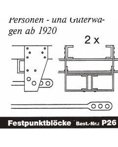 Festpunktblock ab 1920