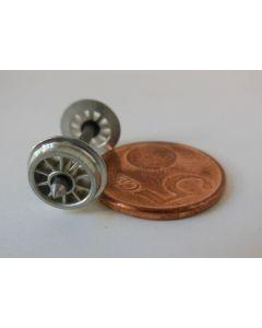 Speichenrad 9mm Spitzenlager