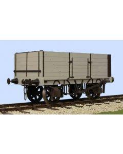 6 Plank Open Wagon Side & End Door. bausatz