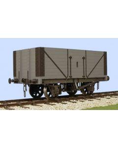 Standard 8plank open wagon, Bausatz