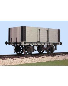 Gloucester P.O. 7plank - side door wagon. Bausatz