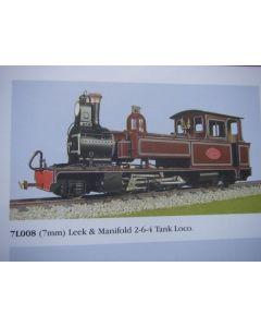 Leek & Manifold 2-6-4 Tank Loco Kit