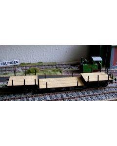 Tiefladewagen, Bausatz